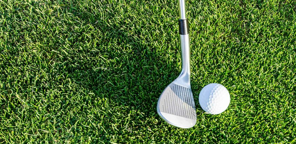 bequests feature image, golf club and ball on grass