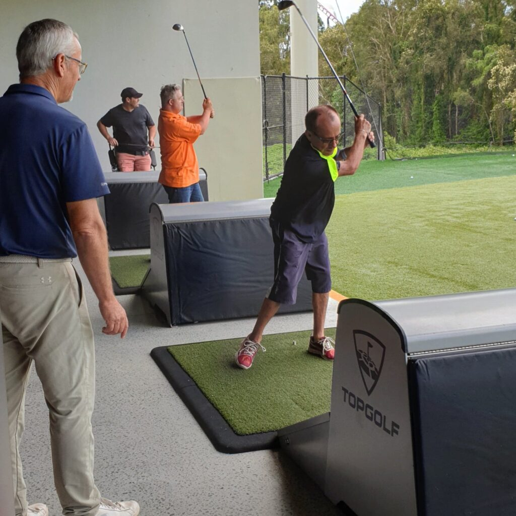 empower golf, private coaching image